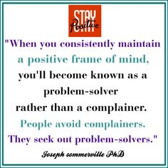 That's how I see it but so many just want to complain and be a victim. They are not looking for a solutition.