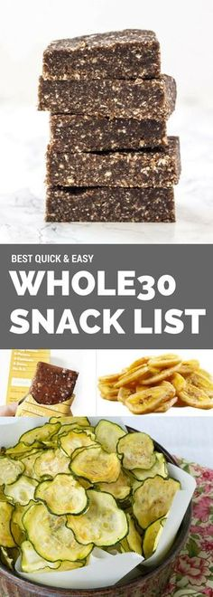 Easy whole30 snacks on the go. Brands, recipes, and products. Follow this easy and simple guide to whole30 healthy snacking.
