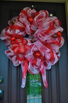 Ant Wreath Summer Wreath Deco Mesh Wreath by RedWithEnvyDesigns, $90.00