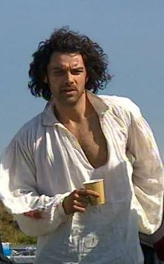 And above all, that hair, that hair, that incredible hair. (And the chest ain't bad either)
