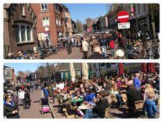 Gezellig druk in Zevenaar op koopzondag 7 april 2013. via @Dorothé Vos-Heijneman.