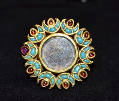 Antique Kundan Thumb Ring