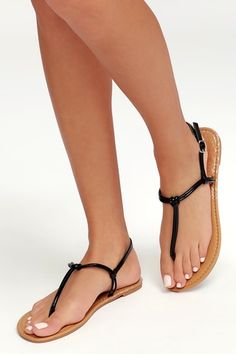 We've got summer's hottest styles of comfortable sandals for women at prices you'll love! Shop women's dress sandals! T Strap Sandals, Lace Up Sandals, Dress Sandals, Flat Sandals, Pretty Sandals, Pretty Toes, Gorgeous Feet, Sexy Toes, Women's Feet