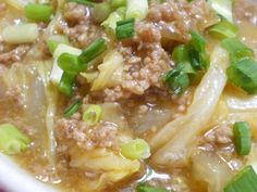 How are you today? How about making Creamy Mapo Napa Cabbage? Home Recipes, Meat Recipes, Asian Recipes, Dinner Recipes, Cooking Recipes, Healthy Recipes, Ethnic Recipes, Dinner Ideas, Main Dishes