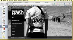 Samantha Gash's website is a great example of online done well. #RunwayDigital #SocialMedia