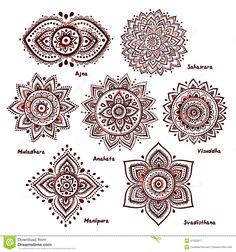https://www.dreamstime.com/stock-illustration-set-chakras-isolated-beautiful-ornamental-image41253317