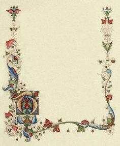 Medieval Border With Heraldry By Dashinvainedeviantart
