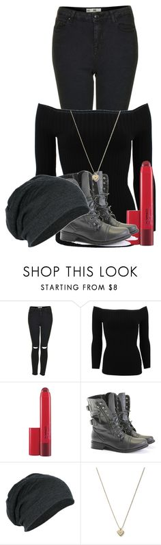 """""""Sin título #502"""" by miau-892 ❤ liked on Polyvore featuring Topshop, Michael Kors, MAC Cosmetics and Rocio"""