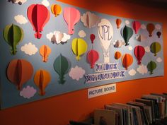 The theme of the 2013 Summer Reading Club is 'Up, Up and Away' and we've launched a new display to celebrate!