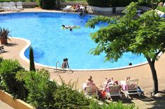 La piscine de Carnon.