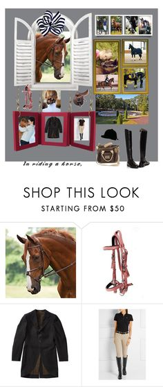 """""""For my love of Horses .  I have been blessed to have had a Shetland Pony ( Mid knight) an Appaloosa (Meango ) and a Tennessee Walker named Pepper and to me they were like big dogs , loved attention and affection, they are such sweet animals ❤️🐎❤️"""" by deborah-518 ❤ liked on Polyvore featuring Riding High, Ralph Lauren and Ariat"""