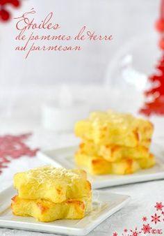 Étoiles de pommes de terre au parmesan