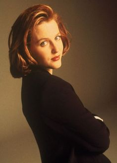 Special Agent Dana Scully - I always wanted to be her! Lol! She's so smart and adorable! Love X-Files!