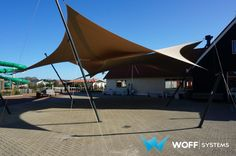 WOFF Engineering — Doekoverkapping Camping Julianahoeve - Renesse (NL)