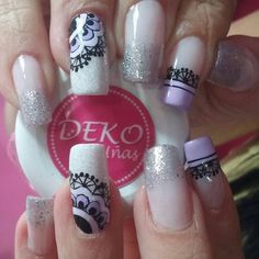 Ven a nuestro spa en Medellín, centro comercial plazuelas de San Diego, local Tel 2329200 Whatsapp Deko por… Violet Nails, Natural Acrylic Nails, Cute Nail Art, Mani Pedi, Toe Nails, Makeup Cosmetics, Nailart, Nail Designs, Lily