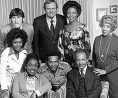 The Jeffersons   Mike Evans (bottom row, center) and the cast of 'The Jeffersons'