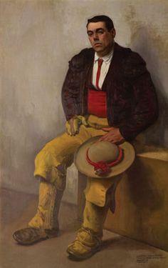 """Diego Rivera, """"El picador"""" 1909. Óleo/tela."""