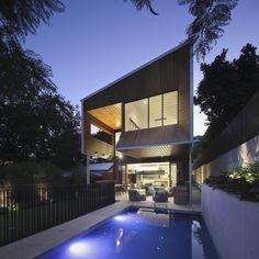 Expressive Wilden St House by Shaun Lockyer Architects