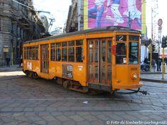 .... vettura (Peter Witt del 1928) versione colore arancio, ATM-1809 .... 13 febb 2009 - © Umberto Garbagnati -