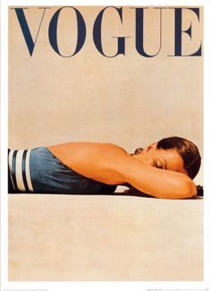 Vogue cover, 1950s More