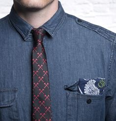 Artfully Disheveled- The Felling - Ties - Accessories