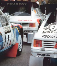 Rally Jyväskylä 1000 Lakes 1986, the Peugeot 205 team