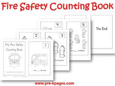 Fire Safety Theme | Pre-K Pages