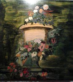 Vintage Floral Vase by Mjlstudio on Etsy, $55.00
