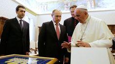 El Papa pide a Putin compromiso en el gran esfuerzo por la paz en Ucrania