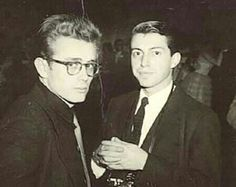 James Dean and Dennis Stock