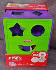 Description: Playskool Form Fitter Purple Green 18 Months and Up/  Item ID: 93 TARGET