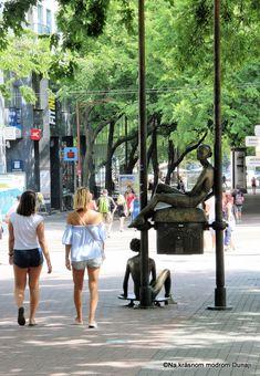 Na Poštovej ulici – Na krásnom modrom Dunaji Bratislava, Wander, Times Square, Street View, Travel, Viajes, Destinations, Traveling, Trips