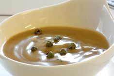 Green Peppercorn Truffle Sauce Recipe_ This luxurious truffle sauce is a great accompaniment to most meat dishes.