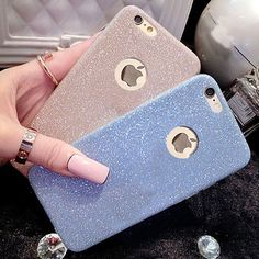 Ultra Thin Glitter Bling Cute Candy Cover For iPhone 6 Case Crystal Soft Gel TPU Phone Cases For iPhone6 6S 5 5S 6 Plus 6SPlus iPhone Covers Online