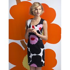 Whether to a work event, wedding or weekend date, this runway-worthy garment will get you on the best-dressed list. Marimekko Mova Black/Pink Dress - $298.00