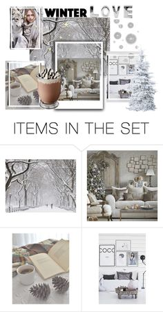 """winter"" by olesenok ❤ liked on Polyvore featuring art"