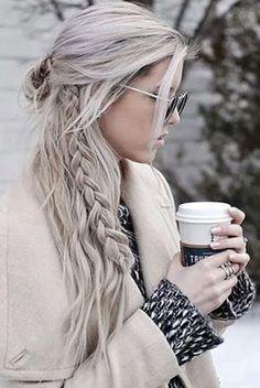 long trendy hair goals