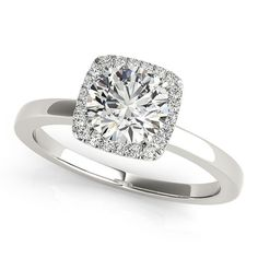 Simple Diamond Engagement Ring.Simple Diamond Ring Engagement