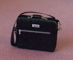 Dollhouse Miniature Laptop Bag - 1/12th Scale