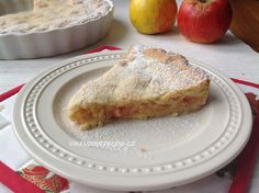 z nich šťávu. Tu doporučuji vypít, nevylévat :) Vykapaná jablka French Toast, Cheesecake, Pizza, Breakfast, Cupcakes, Recipes, Apples, Food, Morning Coffee