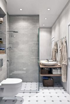 Comfortable Small Bathroom Design and… Small Bathroom Shelves, Bathroom Layout, Modern Bathroom Design, Bathroom Interior Design, Luxury Hotel Bathroom, Bathroom Renovations, Budget Bathroom, Bathroom Ideas, Bathroom Styling