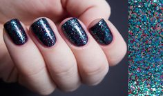 Chalkboard Nails: Shimmer Polish Swatches Part III Cristina