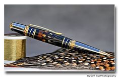 How to cast feathers for pen turning