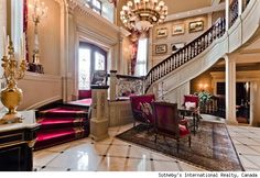 Celine Dion lists her 24,000 sq. ft. Quebec mansion. More photos  http://aol.it/Mc1mz7