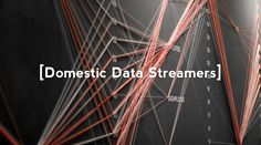 Domestic Data Streamers at SWAB. domesticstreamers.com/  Domestic Data Stream is a real time, real size and on the go infographic based on a...