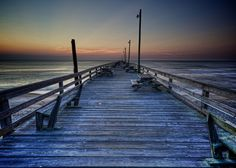 The Empty Pier by Gage Caudell, via 500px