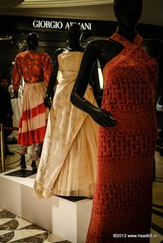 """Vogue's Project Renaissance, The Grand Revival! MISSONI for Lucknowi chikankari  """"Working with [the fabric] has been a pleasure. We [searched] our archives for the model that would best suit the peculiarity of the craft and enhance its beauty"""" — Margherita Missoni, brand ambassador."""