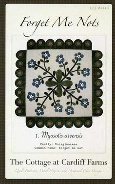 Forget Me Nots Table Mat