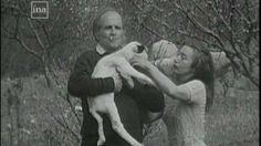 Leo Ferret et Madeleine sa première femme Leo, Love Story, Madeleine, Woman, Lion