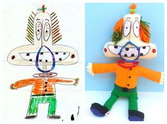 Le Petit Creations | Turn drawings into actual dolls